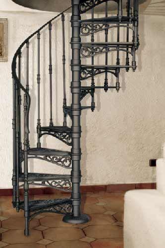 Treppenstufen Holz Gebraucht ~   ø 120 cm Modell 2010 M (Treppenstufen aus Gusseisen mit Setzstufe
