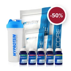 MyProtein sconto 50% sul pacchetto definizione in 30 giorni