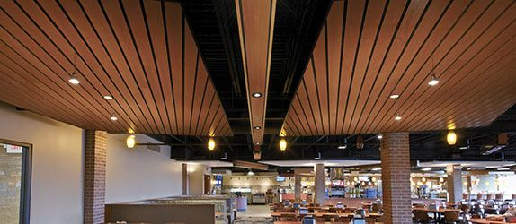 Woodworks Suspended Timber Ceiling Panels Cielos Wood