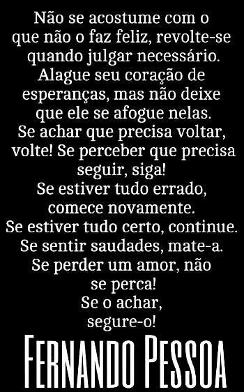 Fernando Pessoa                                                       …
