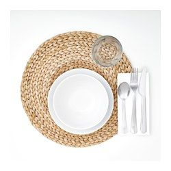 IKEA - SOARÉ, Place mat, Every product is handmade and therefore unique.