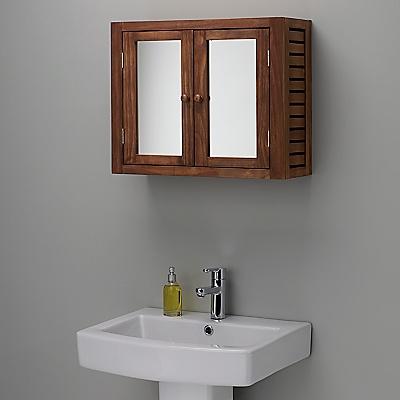 buy john lewis jakarta bathroom double wall cabinet online at johnlewiscom john lewis