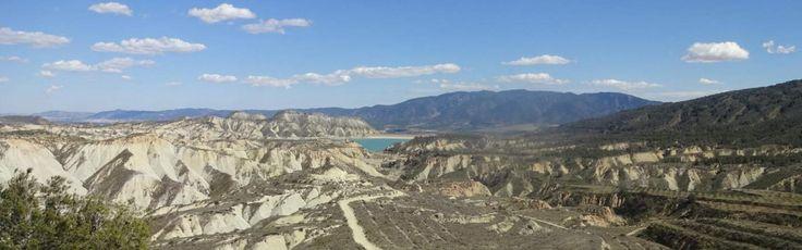 Views across the Barranco Gebas, Murcia. Espubike Mountain Bike Package, Sierra Espuna | mollydoo.com