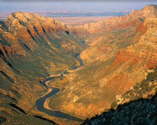 Created in 1997/98, this 512-mile diamond-shaped loop connects the cities of Vernal, Roosevelt, Price, Duchesne, Helper, Moab, and Green River in Utah; and the communities of Grand Junction, Fruita, Rangely, and Dinosaur in CO. Dig sites, museums, and scenery abound. The Utah sites are featured in this piece. www.dinosaurdiamond.org