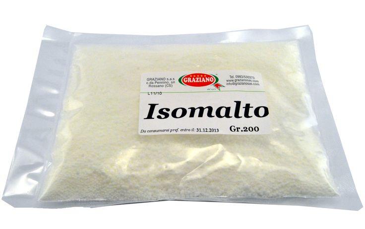 Il prodotto del giorno è l'isomalto, un sostituto naturale dello zucchero. Ideale per realizzare figure in zucchero e consigliato nella preparazione di prodotti per diabetici. http://decorazioniperdolci.it/isomalto.html