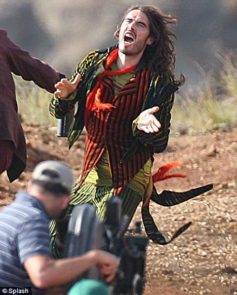 From a BBC storm to The Tempest: Russell Brand plays a Shakespearean drunk character in new film by Julie Taymor