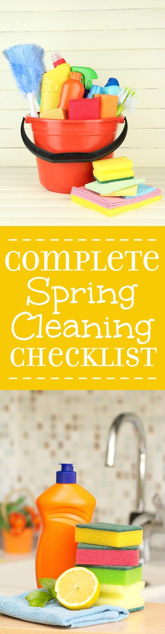 how to spring clean a house