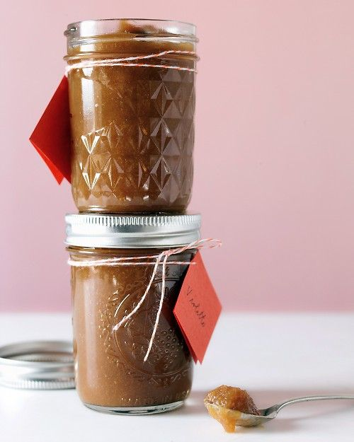 Slow-Cooker Pear and Apple Butter Great on toast, pancakes-also great as a gift