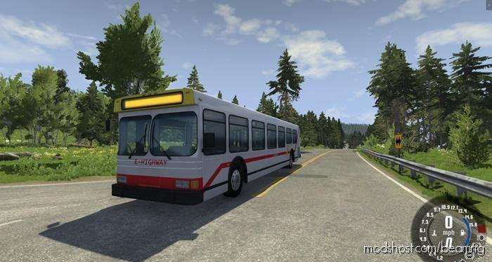 Download Wentward Et40l Bus V0 9 Mod For Beamng Drive At Modshost