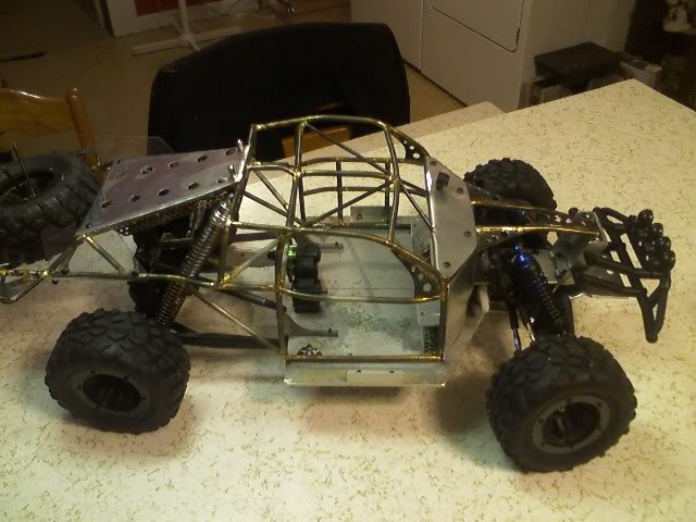 how to build an rc car from rc parts