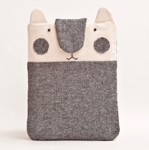 The cat ate my iPad! Cute handmade case from Etsy