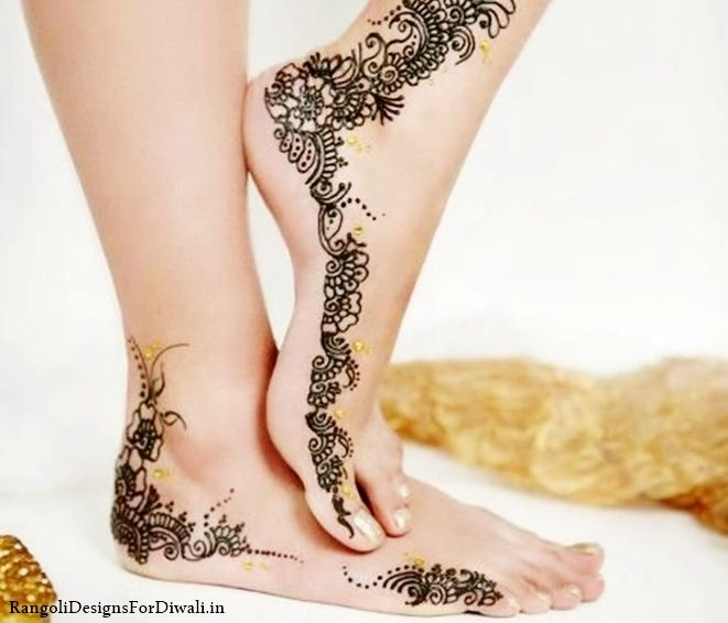 Leg Mehndi Wallpaper : Free download full hd latest beautiful arabic mehndi