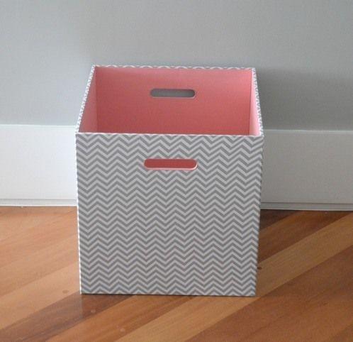 Caixa Organizadora Manu | Ideias de Mamãe