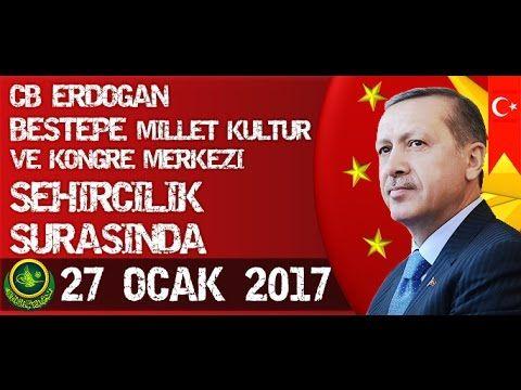 Cumhurbaşkanı Erdoğan, Şehircilik Şurasında Konuştu / 27 Ocak 2017