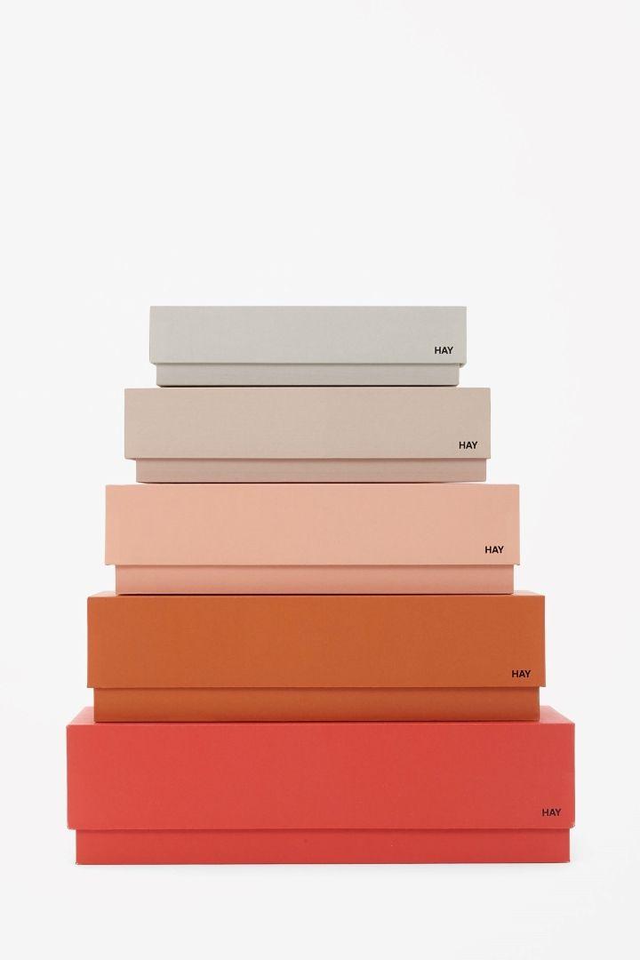 COS | Set of desktop boxes