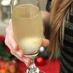 Soupe de Champagne au litchi