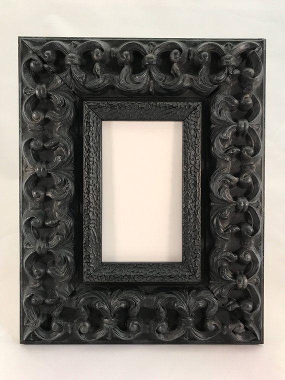 Black Ornate Picture Frame 3x5, 4x6, 5x7, 8x10, 11x14 ...