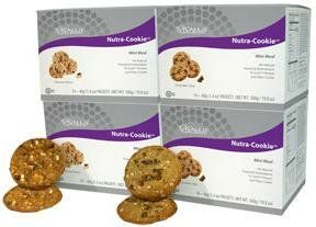 ViSalus Body By Vi All-Natural Nutra Cookie Protein Bar (Oatmeal Raisin & Chocolate Chip) 56 Individual Cookies, These delicious, all-natural, cookies are the perfect mini meal the whole family can enjoy! Made with our exclusive Tri-Sorb™ protein system, prebotics and fiber, and antioxidants, these cookies sup...