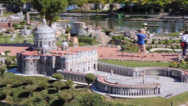 """Парк Италия в миниатюре в Римини park """"Italy in Miniature"""" Rimini"""