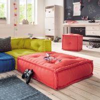 Kindersofa KIDS CUSHION, Sofa Element B / Bodenkissen, 65x65cm