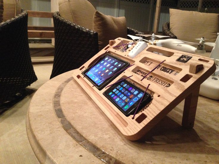 Drone table - command center for your drone by SpiffyBrewed on Etsy https://www.etsy.com/listing/249580994/drone-table-command-center-for-your
