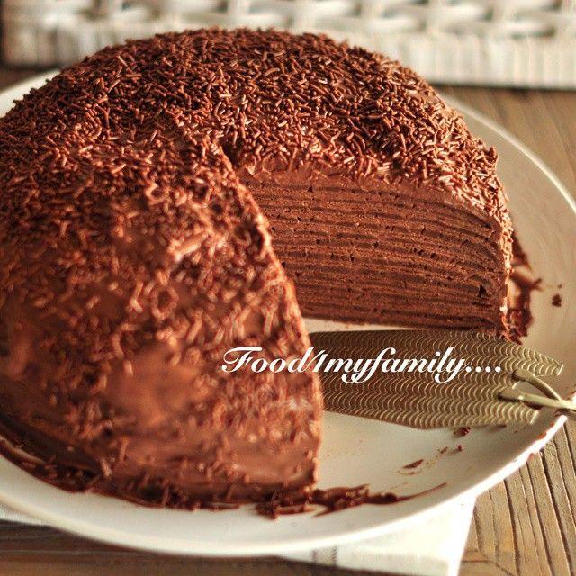 545 отметок «Нравится», 47 комментариев — Marina Bakush (@food4myfamily) в Instagram: «Блинный торт пп. Об'едение*) рецепт напишу чуть позже в коментариях ниже»