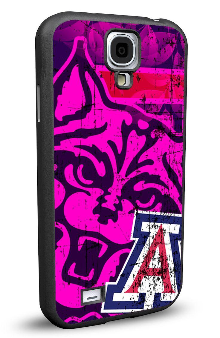 Arizona Wildcats Cell Phone Hard Protection Case for Samsung Galaxy S5, Samsung Galaxy S4 or Samsung Galaxy S4 Mini