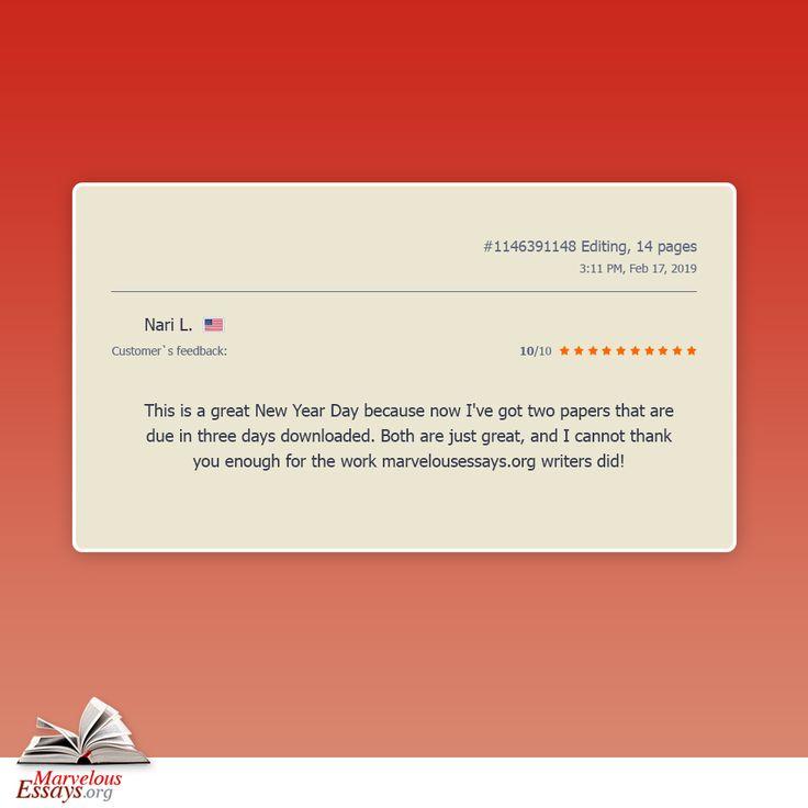 Custom Essay - Essay Writing Guide - Essay Types: Feedback Essay