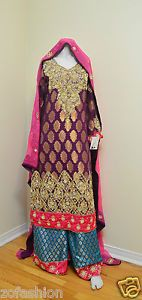 Heavy Dapka Sharara/ Wedding/ Engagment dress | eBay