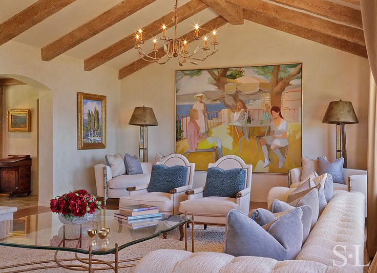 Residences - Living Room 2 - Suzanne Lovell Inc.