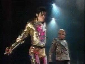 Michael Jackson ~ History Tour ~ *Gold Pants Mania* Magic Crotch/Pelvic Thrusts (•◡•) *mooaaans*