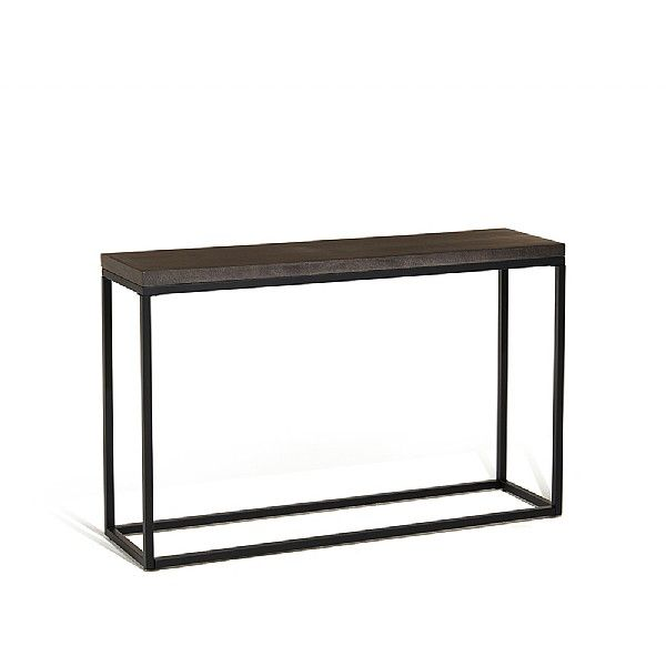 Arianne Graphite Console Table Console Table Table Teak Furniture