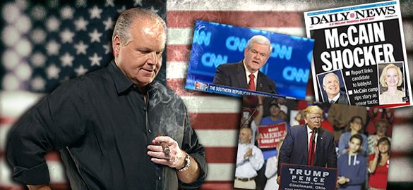 RUSH: It doesn't matter who the nominee is, folks, at some point everybody on our side is gonna have to recognize this for what it is.  And it is about time there became a national backlash over this entire tactic.