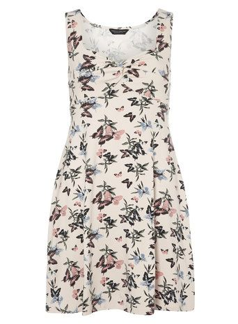 Butterfly Twist Front Dress