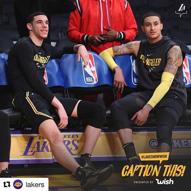 Do You Wish To Be The Lakers Honorary Team Captain And Score A Pair Of Lower Level Tickets To The Lakers Heat Basketball T Shirt Designs Kyle Kuzma Nba League