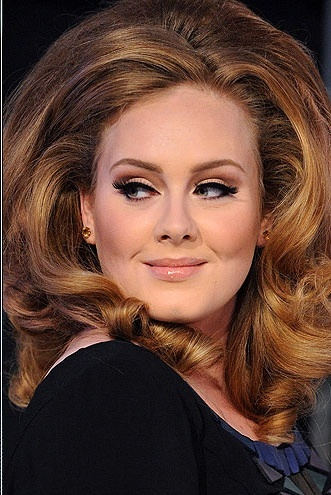 Adele I love her music and I think she is gorgeous just the way she is!