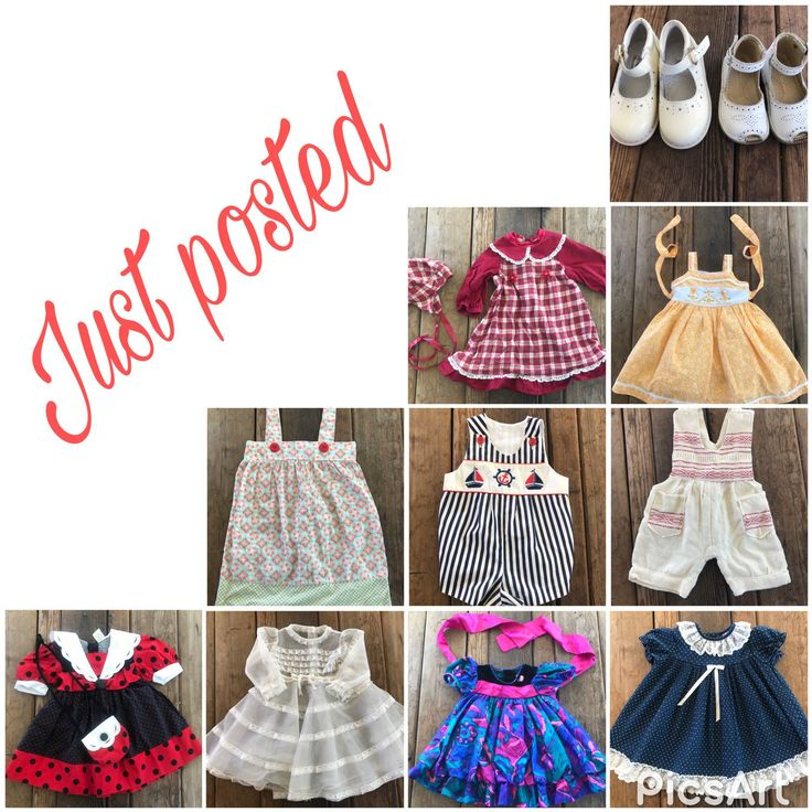 Adding all of these to the shop for your littles don't miss out!#vintage #etsy #kids #toddler #infant