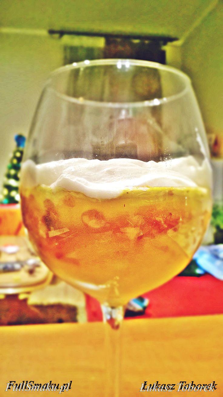 Deser bez pieczenia pomarańczowo-orzechowy