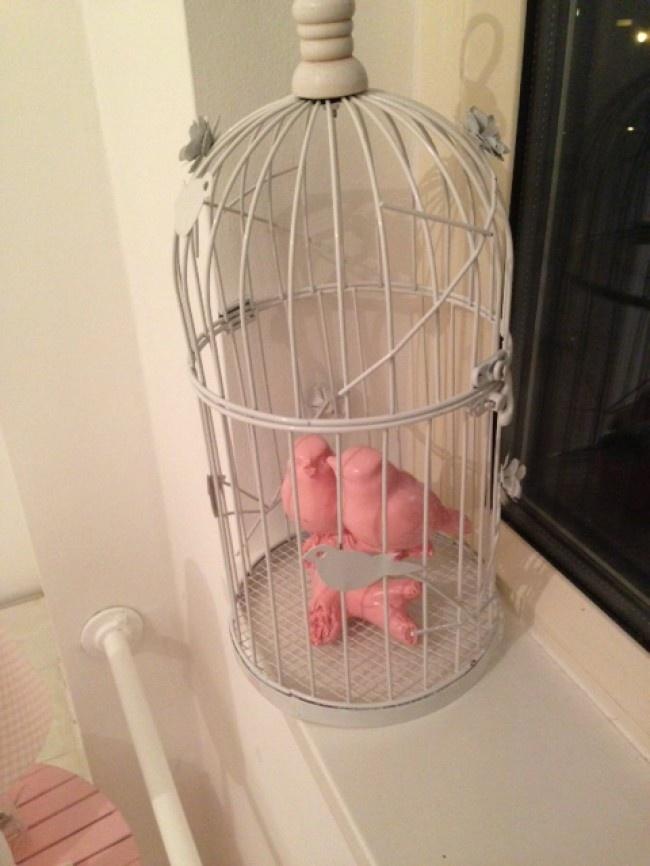 vogelkooi voor de babykamer