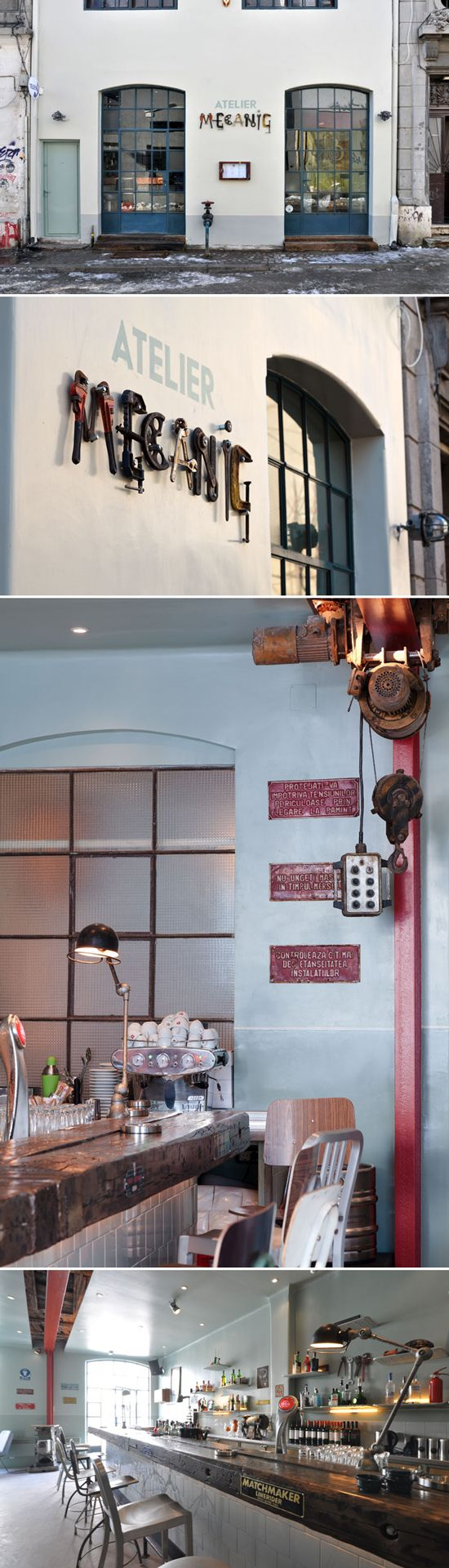 : Kitchens Spaces, Favorite Places, Subway Tile, Logos Design, Modern Industrial, Ate Mecan, Industrial Design, Vintage Industrial, Corvin Cristian