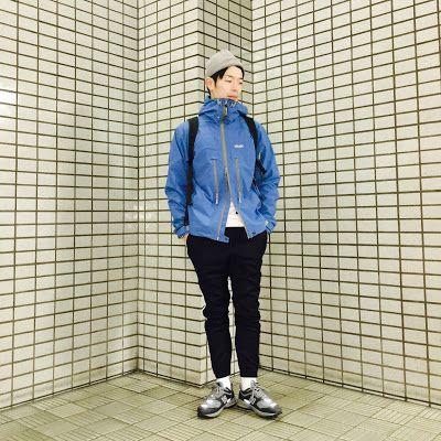 Y's Wardrobe: 【tilak UNIQLO B&Y】アウトドアジャケットにラインスラックスでスポーティースタイル!