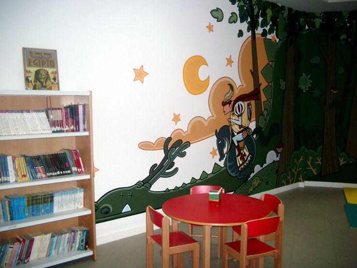 Sala Infantil da Biblioteca Pública Municipal de Ribadavia