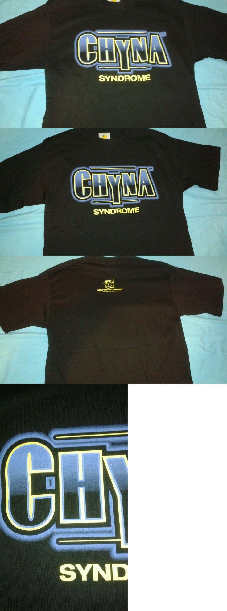 Wrestling 2902: Chyna Syndrome Wwf 1997 T-Shirt Size Large New Unworn Wwe Tna Wcw Njpw Wrestling -> BUY IT NOW ONLY: $35 on eBay!