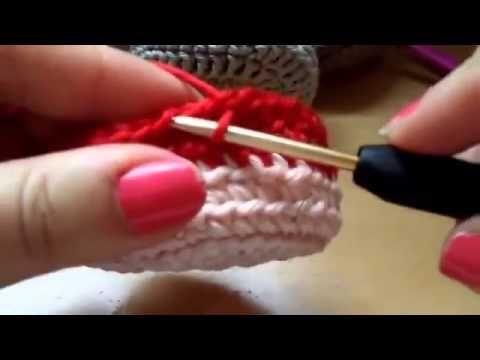 Как связать тёплые детские ботинки пинетки - YouTube