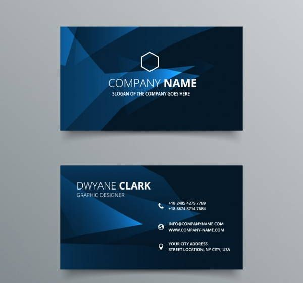 14 Elegant Business Card Templates Pages Word Ai Modern
