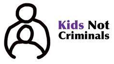 children are not criminals