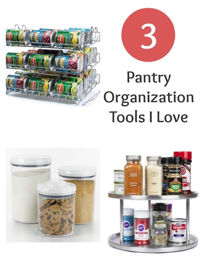 Three Pantry Organization Tools I Love | Spring Clean Your Pantry | MomTrends.com