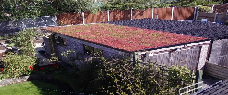 Esk roofing supplies and installs green roof systems on domestic and commercial properties. We can supply and install sedum,wildflower,grass and brown roofs