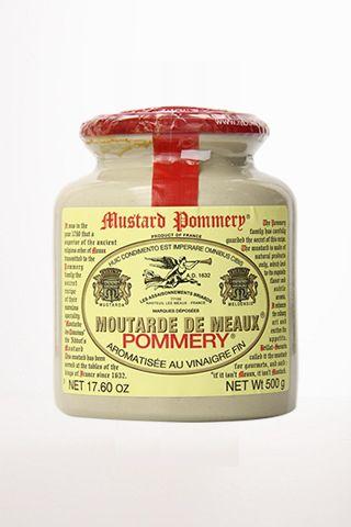 Pommery Meaux Mustard Stone Large Jar 17.6 oz 500g