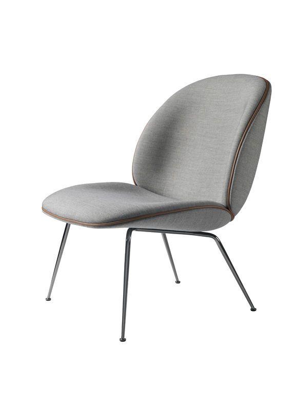 GUBI // Beetle lounge chair by GamFratesi